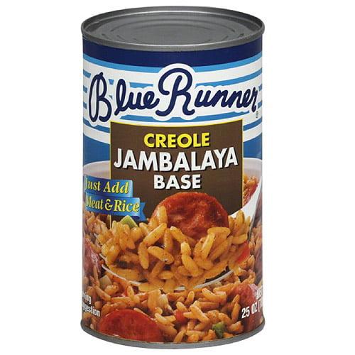 Blue Runner Creole Jambalaya Base, 25 oz, (Pack of 6)