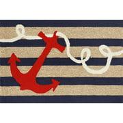Liora Manne Frontporch Anchor Area Rug