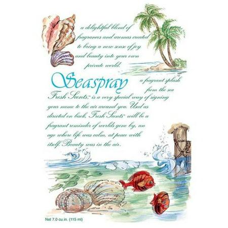 Fresh Scents Scented Sachet Set of 6 - Seaspray