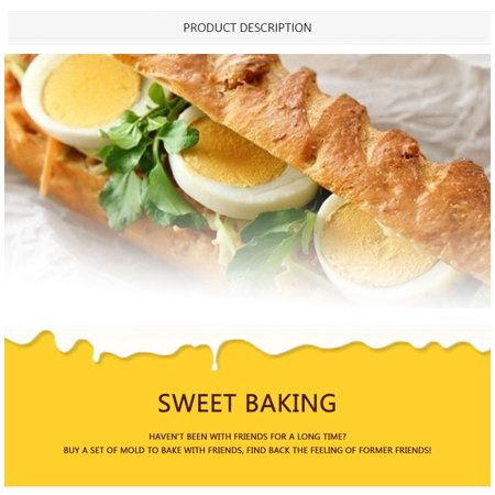 Non-Stick Baking Paper, Heat Resistance Double-Sided Silicon Parchment Paper for Grilling Steaming - image 4 de 5