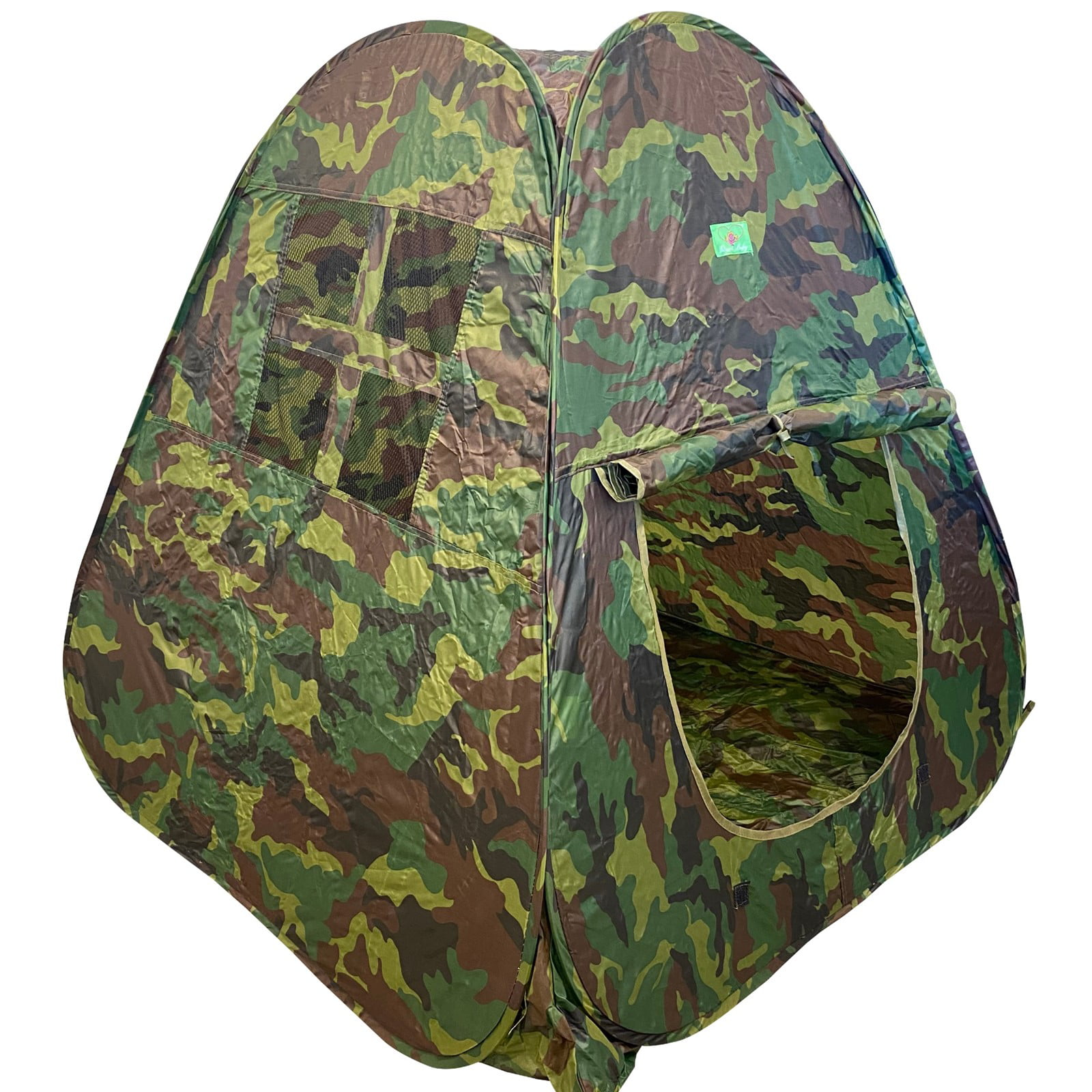 Pop Up Tent Playhouse Camouflage Tent Kids House TUNNEL ONLY Indoors Outdoors