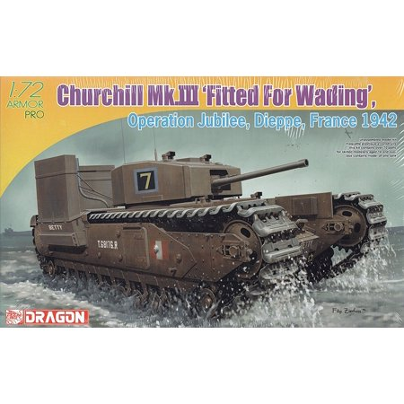 Dragon Models Churchill Mk.III with Deep Wading Kit (1/72
