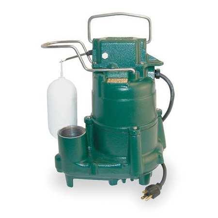 Sump Pump 1//2 HP Dayton 1XHV7 Al 2in NPT 36ft Max