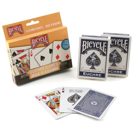 US Playing Card Company Bicycle Euchre Games - Make Your Own Playing Cards