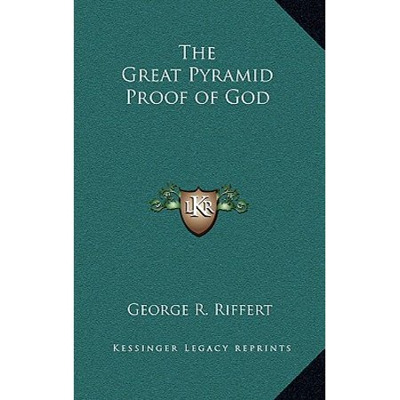 The Great Pyramid Proof Of God Hardcover