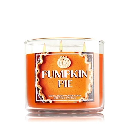 Bath & Body Works Candle 3 Wick 14.5 Ounce Pumpkin