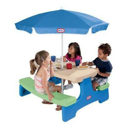 Little Tikes Easy Store Picnic Table with Umbrella ()