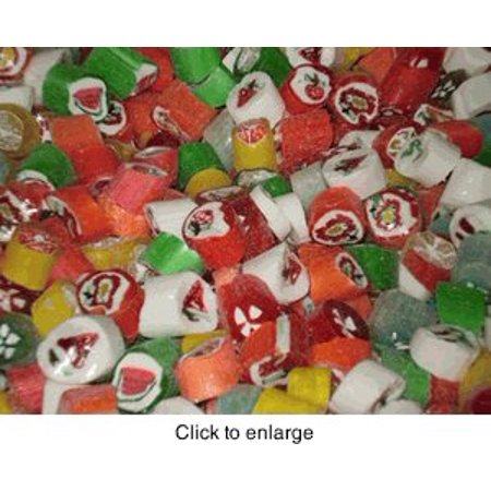 Cut Rock Hard Christmas Candy 1 pound