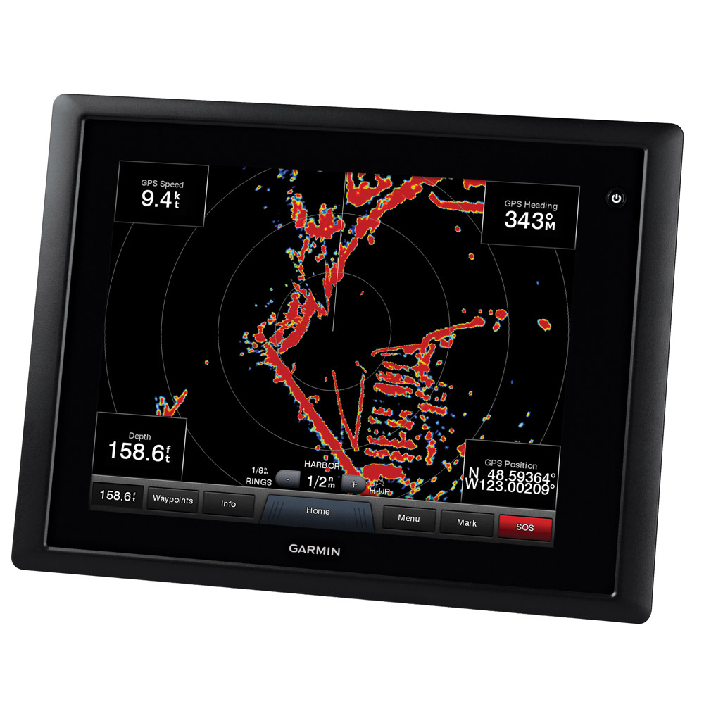 GARMIN GPSMAP 8212 MFD GPS CHARTPLOTTER W  GPS ANTENNA by Garmin