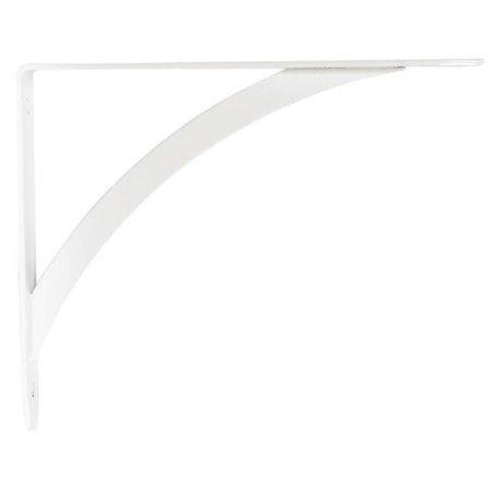 Knape & Vogt Matrix RP-0053-7WT Elegante Shelf Bracket  White - 7 in. - pack of 10 - image 1 de 1