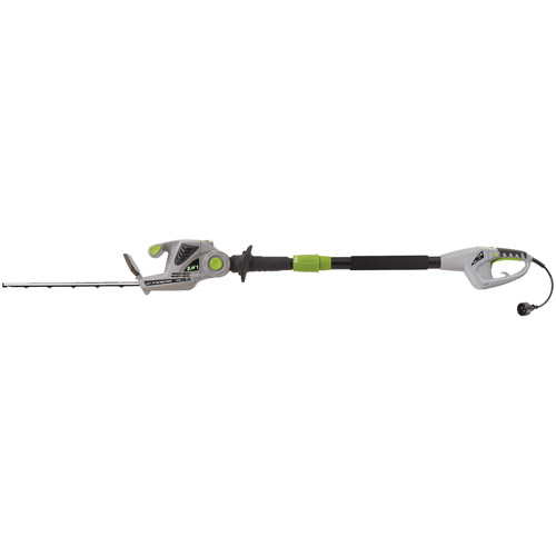 "Earthwise 18"" 120V/2.8-Amp 2-in-1 Convertible Electric  Pole Hedge Trimmer"
