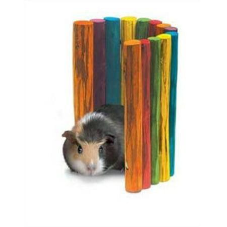 - Super Pet Guinea Pig Tropical Fiddle Sticks Hideout, Medium Multi-Colored