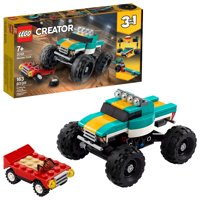 LEGO Creator 3in1 Monster Truck Toy 31101 Cool Building Kit for Kids (163 Pieces)