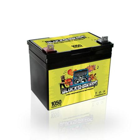 Green 12v 35ah 1050 Watts Nb T5 Car Stereo Battery Replaces Stinger Spv35