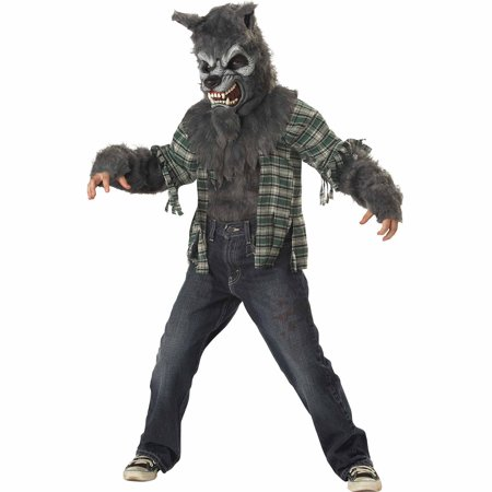 Howling At Moon Child Halloween Costume](Halloween Costumes At Walmart)
