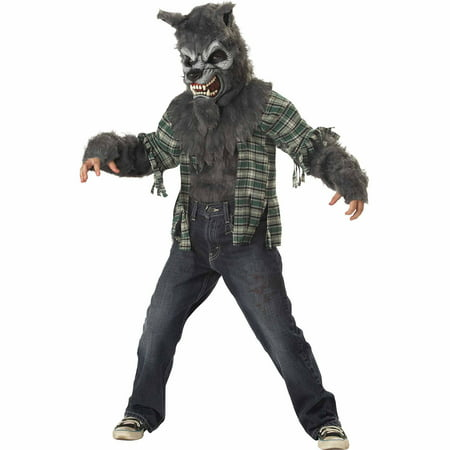Howling At Moon Child Halloween Costume - Moon Costume For Kids