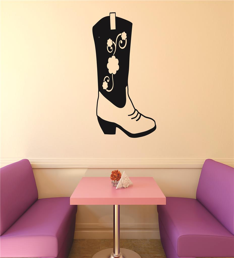 Top Selling Decals - Prices Reduced Wall : Western Cowgirl Flower ...