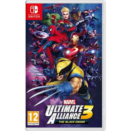 Marvel Ultimate Alliance 3: the Black Order Nintendo Switch, Import Region Free (Ultimate Marvel Alliance)