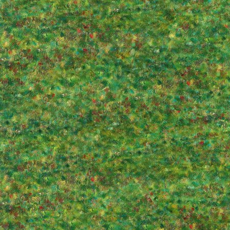 Robert Kaufman George Seurat Grass Pointillist (George Fabric)