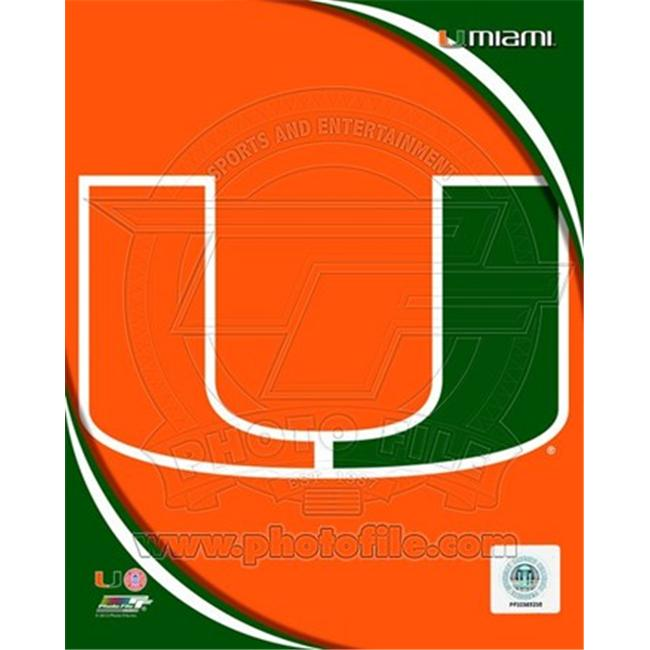 Photofile PFSAAOK09001 University of Miami Hurricanes Team Logo Poster by Unknown -8. 00 x 10. 00