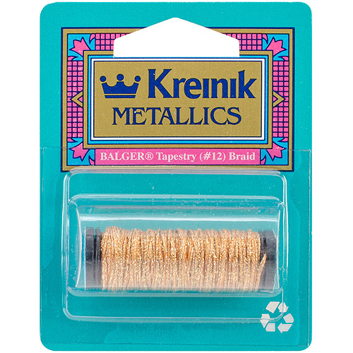 Kreinik Medium Metallic Braid, #16, 10m, (11 yds)