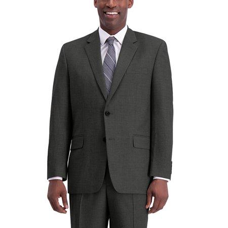 Men's J.M. Haggar Premium Classic-Fit Stretch Suit Jacket Medium Gray Texture