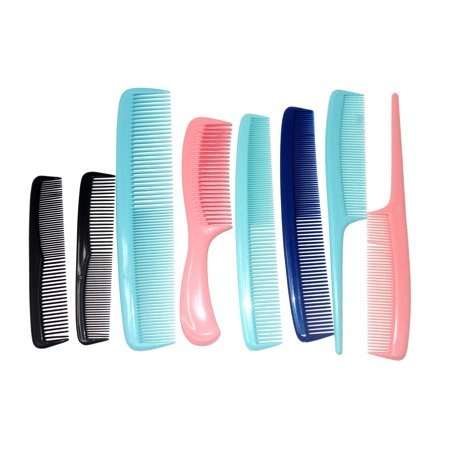 Conair Styling - Multipack Combs Made in the USA, 12 Count ()