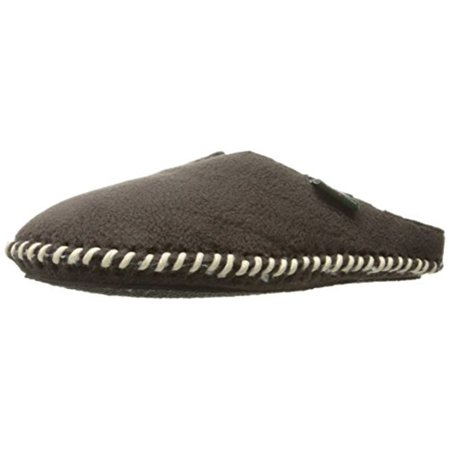 42a67c118 Woolrich - Woolrich Men's Fleece Mill Scuff Slipper, Black, Large/10-11 M  Us - Walmart.com