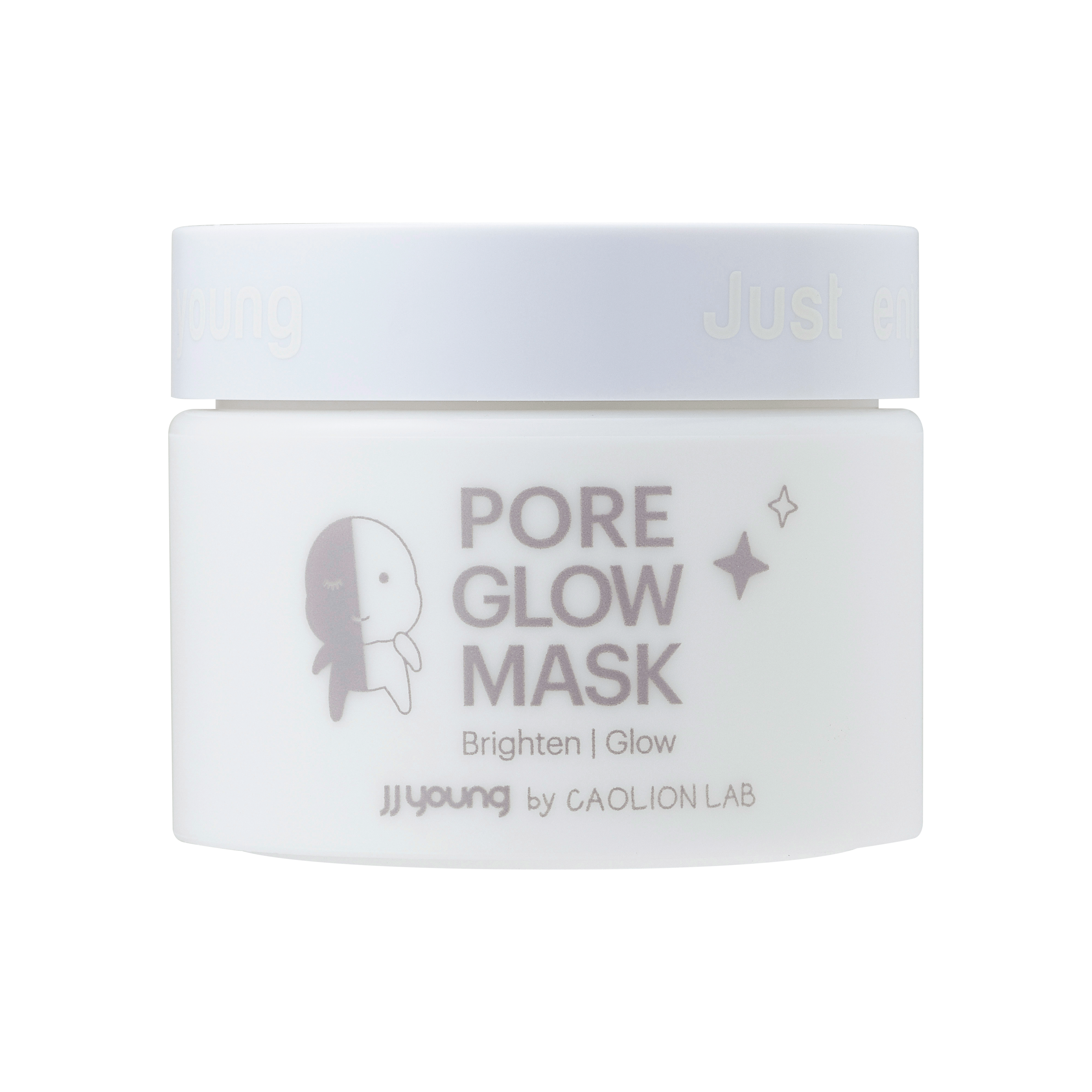 JJ Young by Caolion Lab Pore Glow Face Mask lumixyl md glycopeel 10 brightening exfoliator with decapeptide-12 2 oz