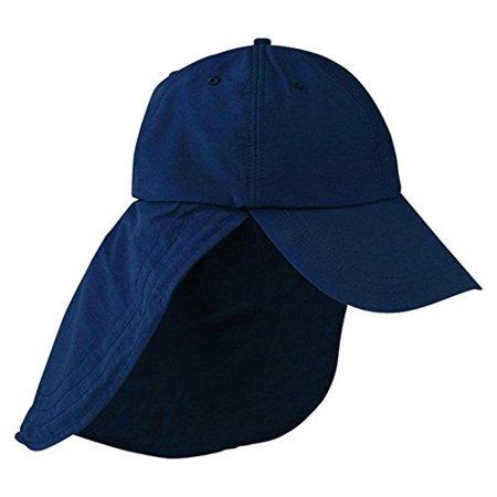 096389e7795 ADAM S HEADWEAR EXTREME OUTDOOR HAT - UPF 45+ (Navy) - Walmart.com