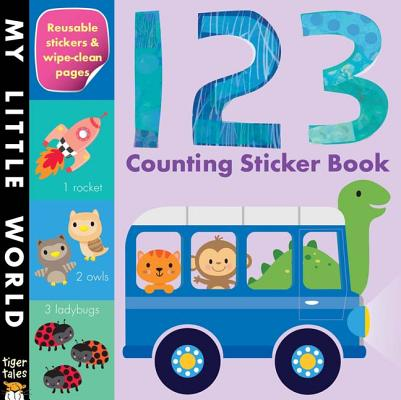 123 Counting Sticker Book (Paperback)