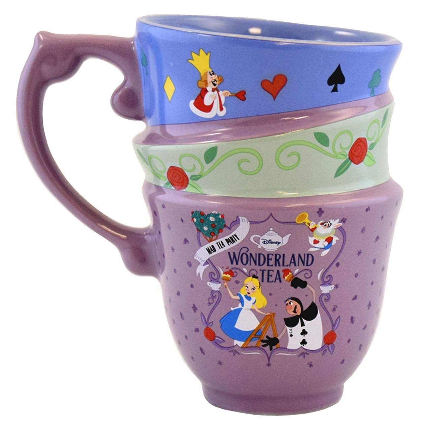 Alice in Wonderland Mug for Tea or Coffee Frame White