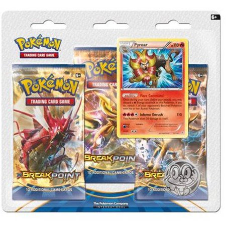 Pokemon XY9 BREAKpoint 3-Pack Double Blister (Pokemon X Target)