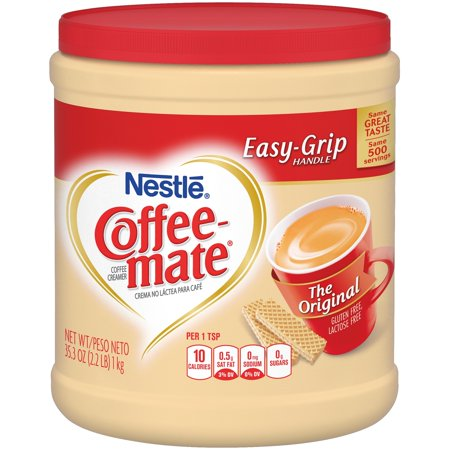 COFFEE MATE The Original Powder Coffee Creamer 35.3 oz. (Fenton Glass Creamer)