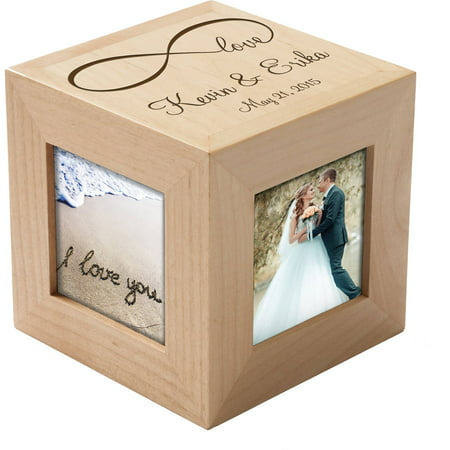 Personalized Our Love Photo Cube](Photo Cubes)