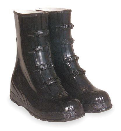"HONEYWELL SERVUS 75109//11 Knee Boots,Sz 11,15/"" H,Black,Stl"