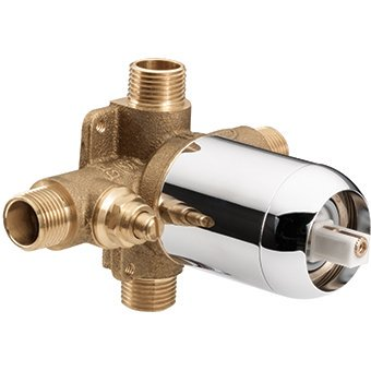45311 Pressure Balancing In-Wall Cycling Valve with Stops (Male Ips / Cc), Cfg tub/shower pressure balance Valve for pressure balancing cycle in wall Valve By Cleveland Faucet