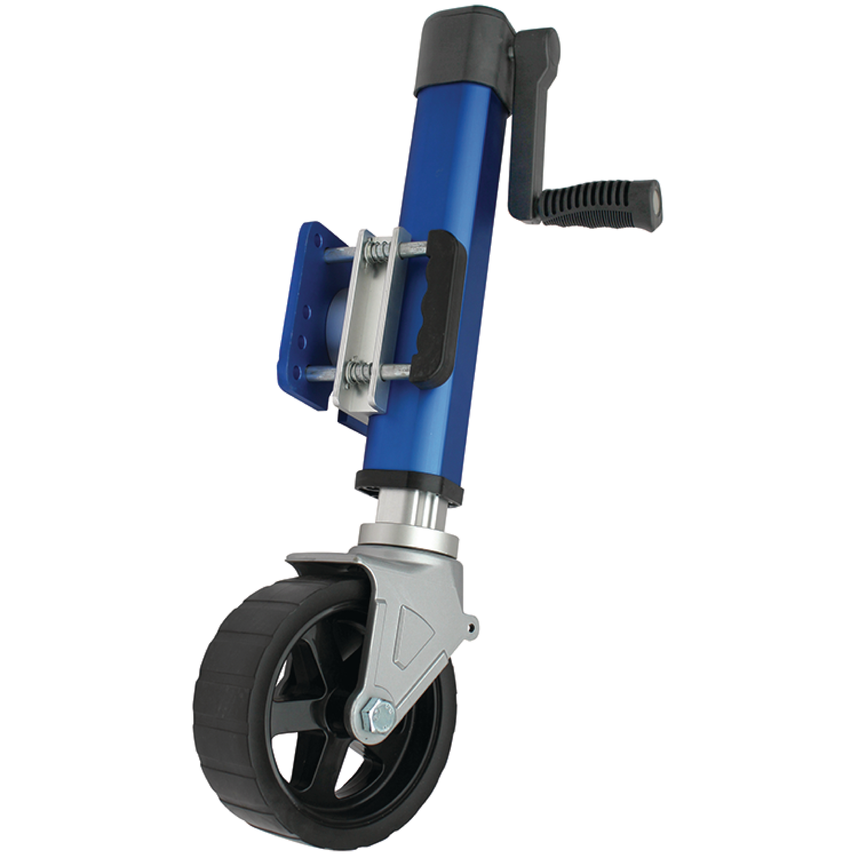 SeaChoice 53311 Blue Heavy Duty Aluminum Trailer Jack with 1,800 lb. Max Load
