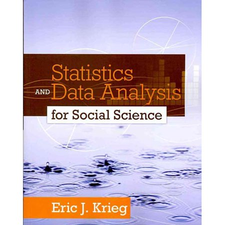 Statistics and Data Analysis for Social Science