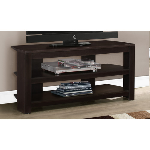 "MONARCH - TV STAND - CAPPUCCINO CORNER -  FOR TV'S UP TO 42""L"