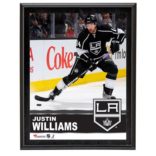 NHL - Justin Williams Sublimated 10x13 Plaque | Details: Los Angeles Kings