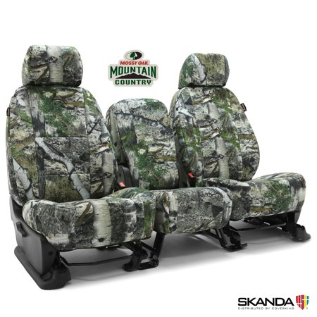 Coverking Skanda Neosupreme Custom Car Seat Cover For GMC 2007 Sierra 1500 HD Classic Mossy