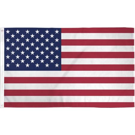 briarwood lane usa grommet flag american flag patriotic 3' x (American Flag Patriotic)