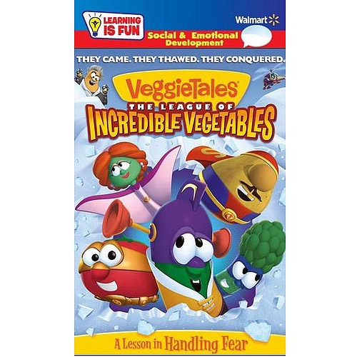 VeggieTales: The League Of Incredible Vegetables (Learning Is Fun Packaging) (Walmart Exclusive) (Widescreen)