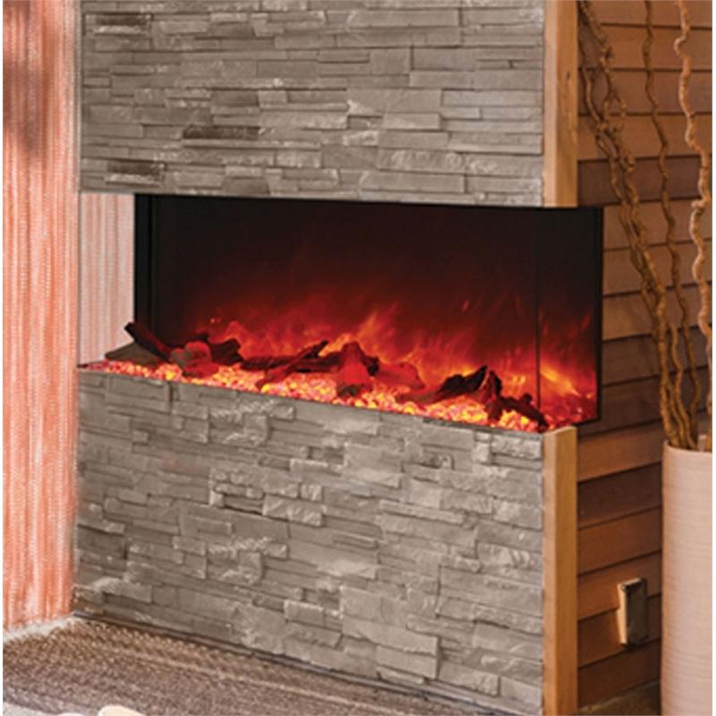 Amantii 3 Sided 60 Wide Electric Fireplace Walmart Com
