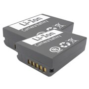 2 Pack Replacement Battery for Olympus BLN1