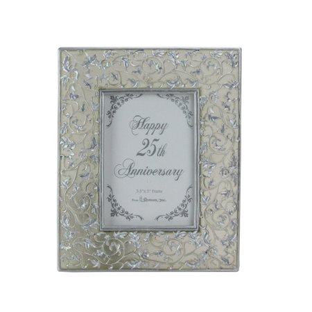 25th Silver Wedding Anniversary 3.5