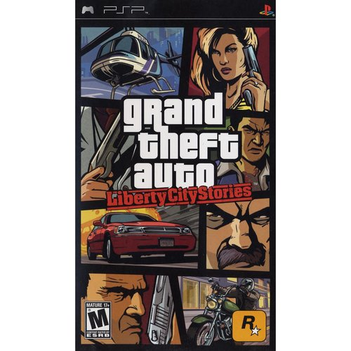 Grand Theft Auto Liberty City Stories Psp Rockstar Games