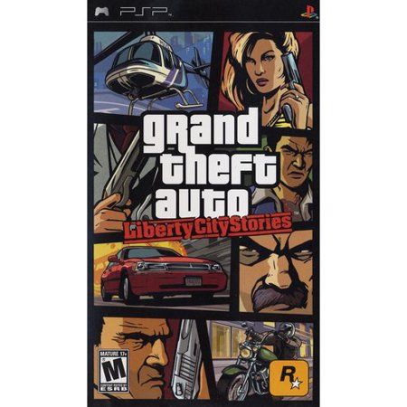 Grand Theft Auto: Liberty City Stories (PSP) Rockstar (Psp Racing Games With Best Graphics)