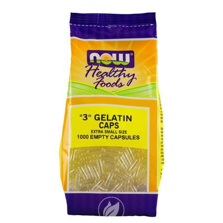 Empty Capsules Gelatin 1000 Cap - Now Foods -